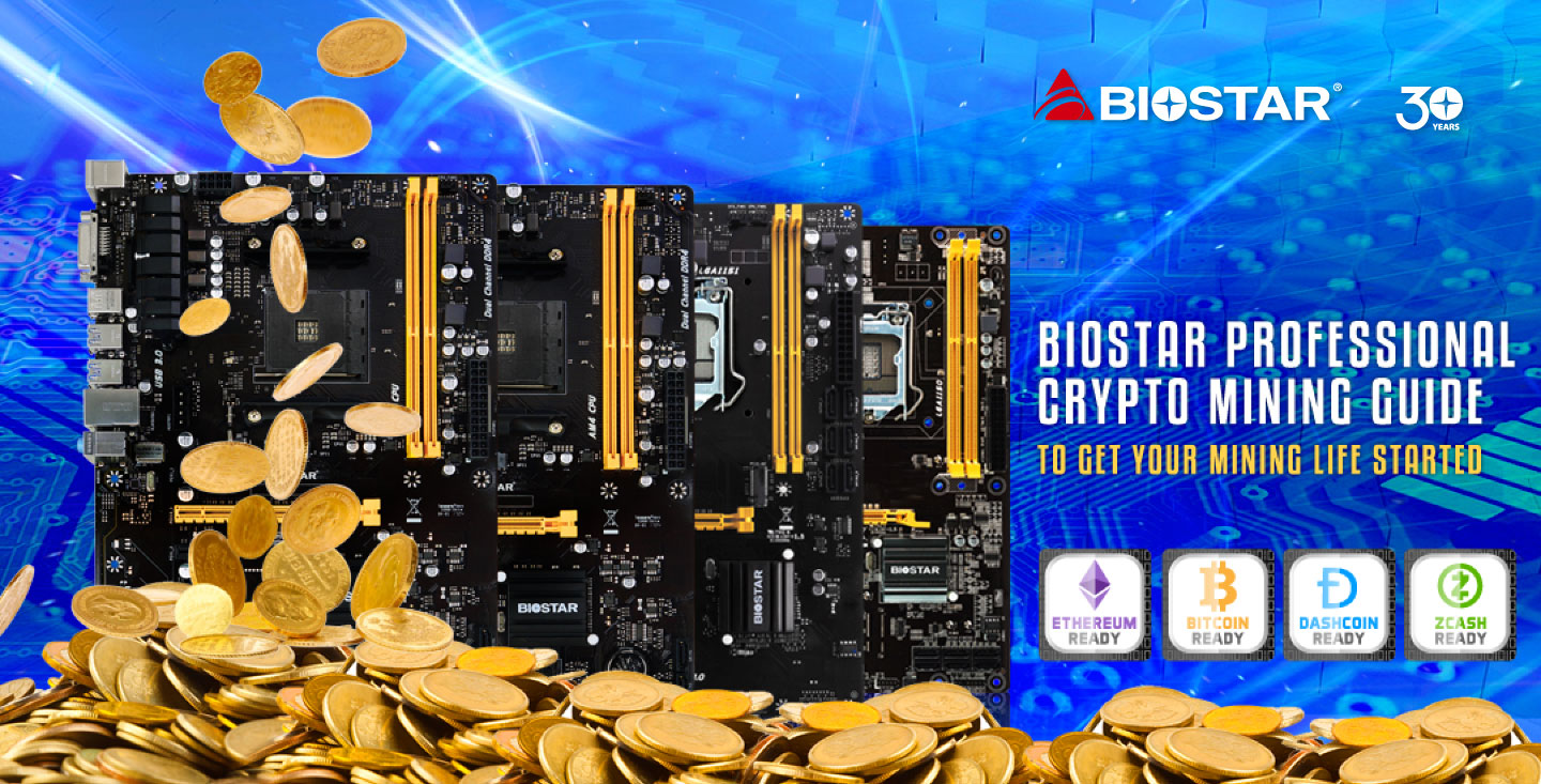 How to set 6gpu Crypto Mining Rig for Bitcoin-Biostar