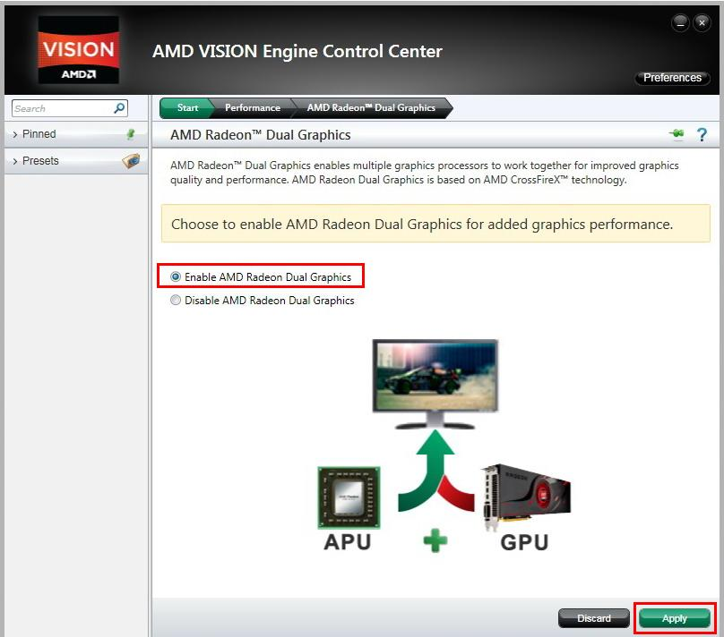 How to set up AMD Dual Graphic (Hybrid Crossfire) on Hi-Fi