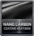 Nano Carbon Coating Heatsink
