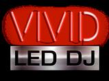 VIVID LED DJ logo