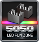 5050 LED Fun Zone logo