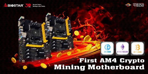 AM4 Crypto Mining Motherboard