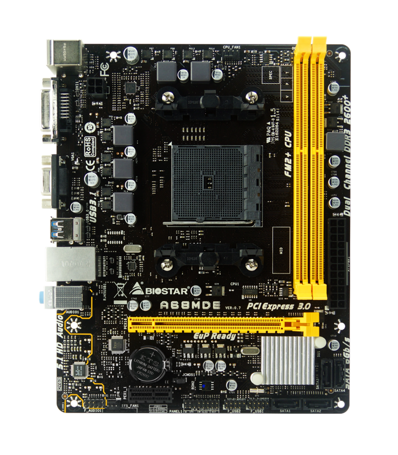 Easy-to-Build Entry-Level Motherboard