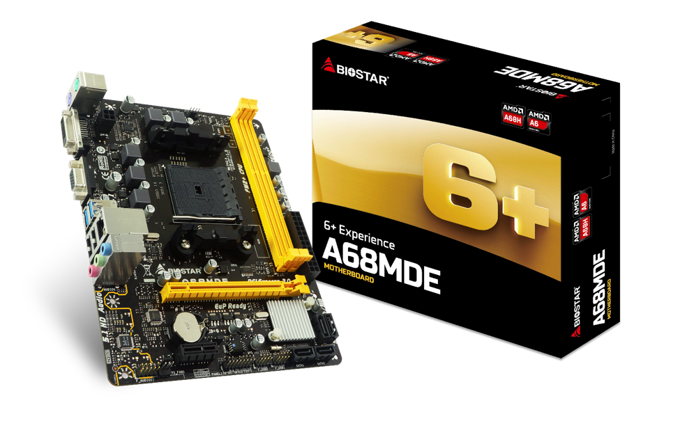 BIOSTAR introduces the A68MDE