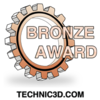 "Biostar Hi-Fi Z97WE received ""Bronze Award"" from Technic3D.com, Germany:"