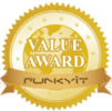 "Biostar A68N-5000 received ""Value Award"" from Funkykit.com:"