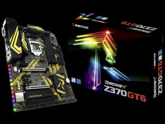 RACING Z370GT6 motherboard for gaming