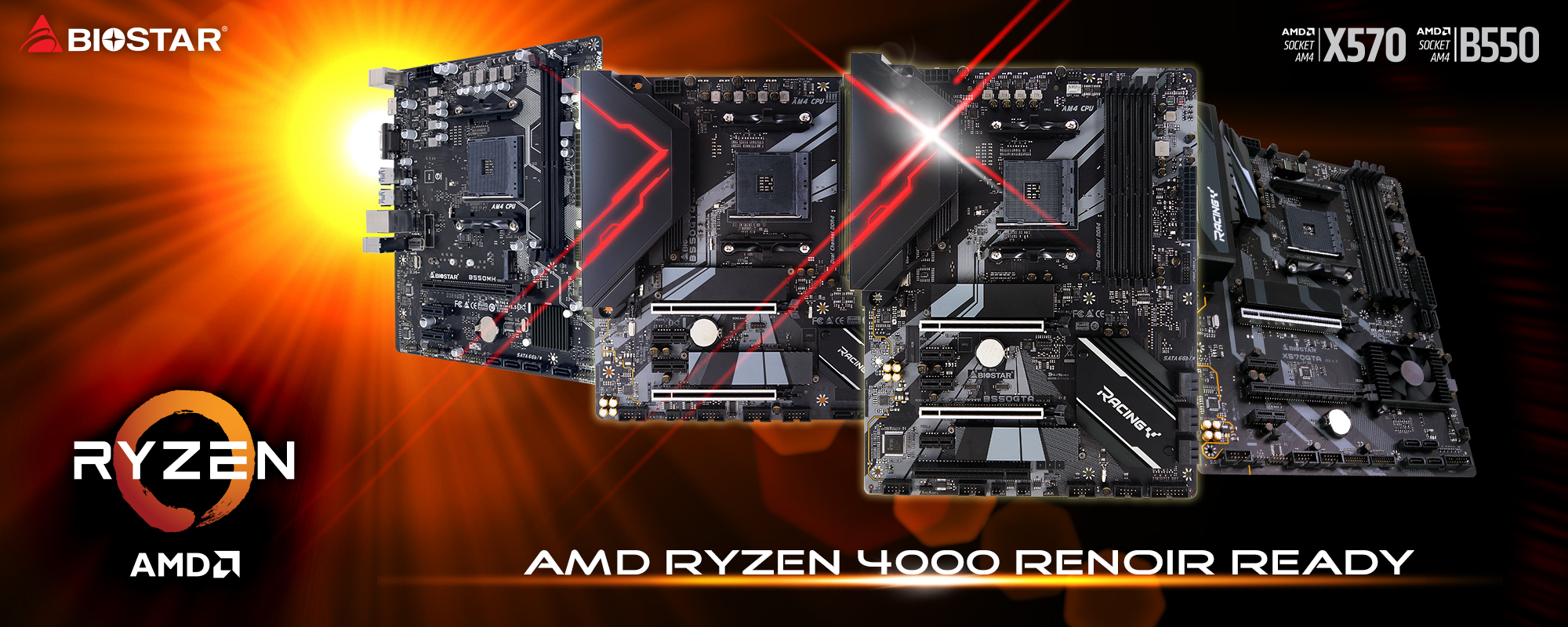 AMD RYZEN 4000 RENOIR READY