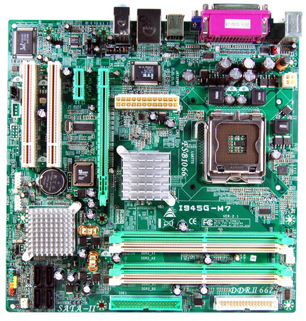 I945G-M7 INTEL Socket 775 gaming motherboard