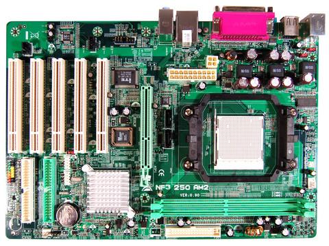 NF3 250 AM2 AMD Socket AM2 gaming motherboard