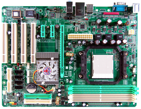 NF4 AM2L AMD Socket AM2 gaming motherboard
