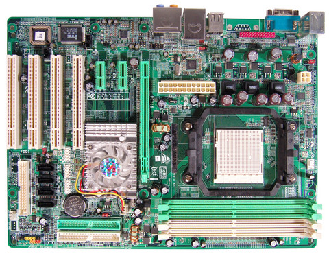 NF500U AM2G AMD Socket AM2 gaming motherboard