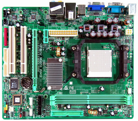 Biostar NF61V Micro AM Drivers