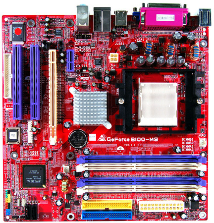GeForce 6100-M9 AMD Socket 939 gaming motherboard