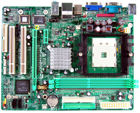 GeForce 6100-M7 AMD Socket 754 gaming motherboard