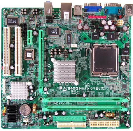 945G Micro 775 TE INTEL Socket 775 gaming motherboard