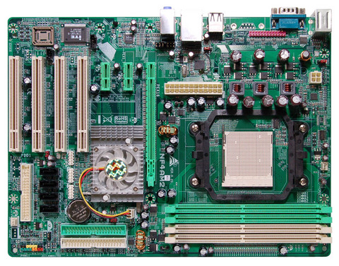 NF4 AM2 AMD Socket AM2 gaming motherboard