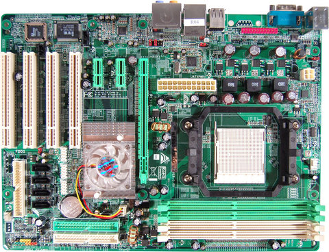 NF500-A2G AMD Socket AM2 gaming motherboard