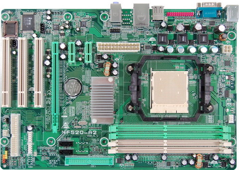 NF520-A2 AMD Socket AM2 gaming motherboard