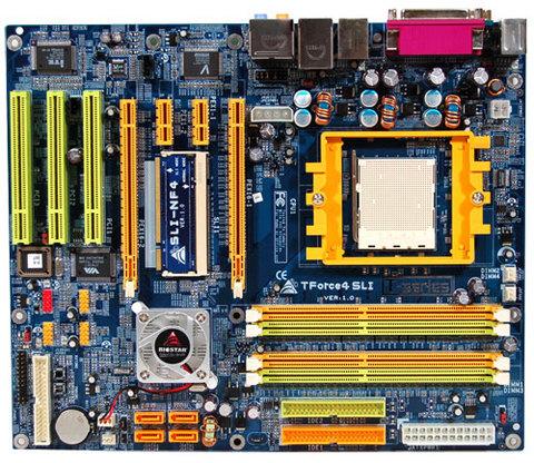 TForce4 SLI AMD Socket 939 gaming motherboard