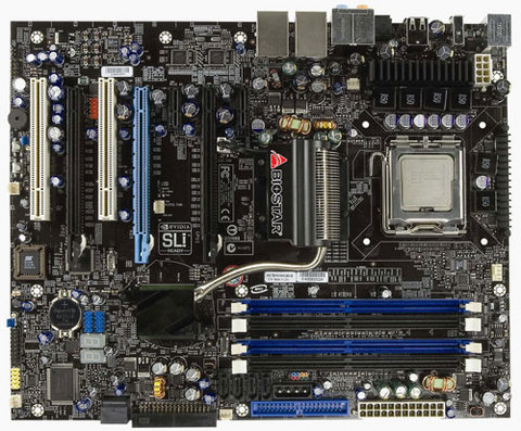 TF680i SLI Deluxe INTEL Socket 775 gaming motherboard