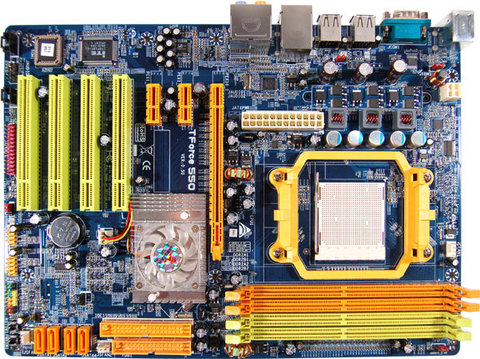TForce 550 SE AMD Socket AM2 gaming motherboard