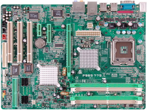 P965 775 INTEL Socket 775 gaming motherboard