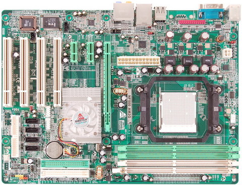 NF500 AM2G AMD Socket AM2 gaming motherboard