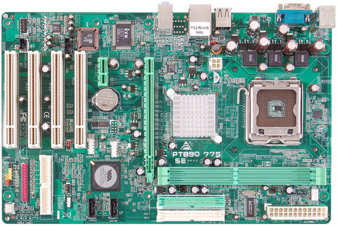 PT890 775 SE INTEL Socket 775 gaming motherboard