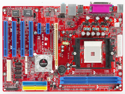 NF4 4X-A7 AMD Socket 754 gaming motherboard