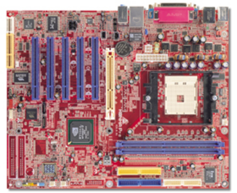 K8NHA Pro AMD Socket 754 gaming motherboard