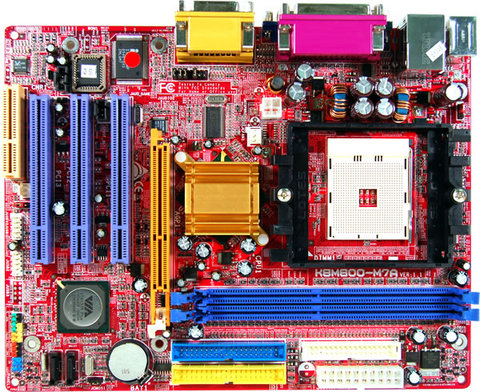 K8M800-M7A AMD Socket 754 gaming motherboard