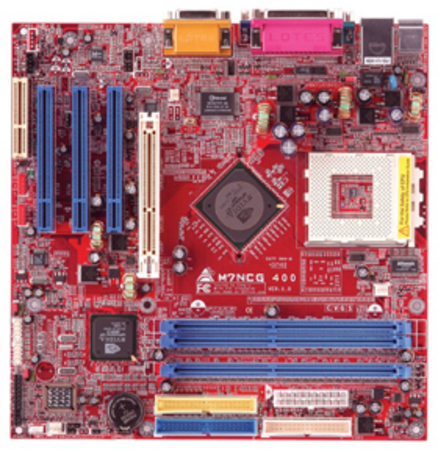 M7NCG 400 AMD Socket A gaming motherboard