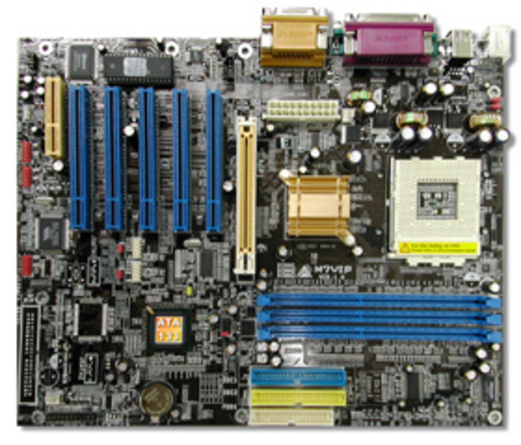 M7VIP AMD Socket A gaming motherboard