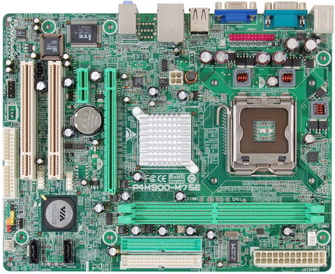 P4M900-M7 SE INTEL Socket 775 gaming motherboard