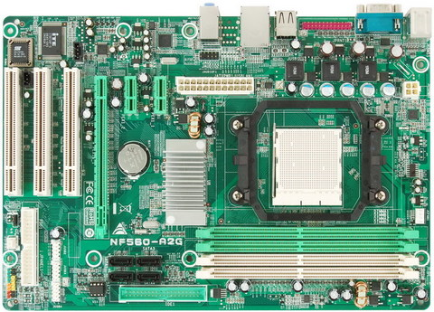 NF560-A2G AMD Socket AM2 gaming motherboard