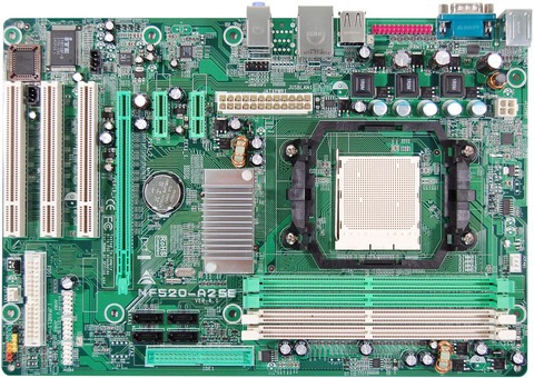 NF520-A2 SE AMD Socket AM2 gaming motherboard