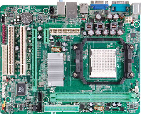 NF61S-M2 TE AMD Socket AM2 gaming motherboard