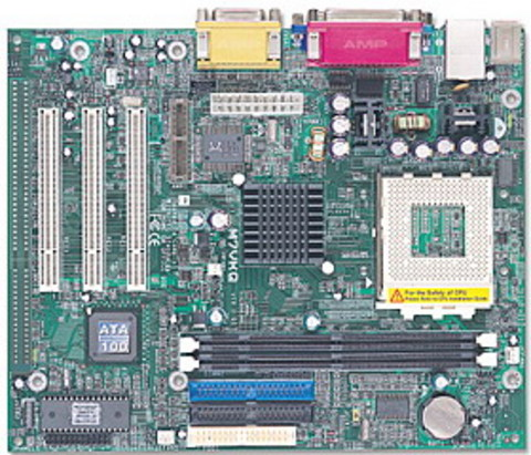 M7VKQ AMD Socket A gaming motherboard