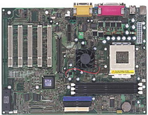 M7VKD AMD Socket A gaming motherboard