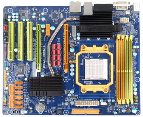 TPower N750 AMD Socket AM2+ gaming motherboard