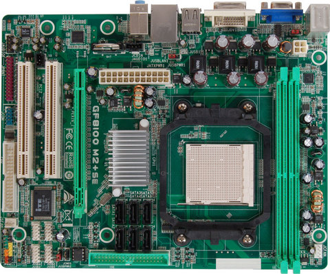 GF8100 M2+ SE AMD Socket AM2+ gaming motherboard