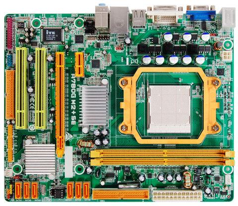 A780G M2+ SE AMD Socket AM2+ gaming motherboard