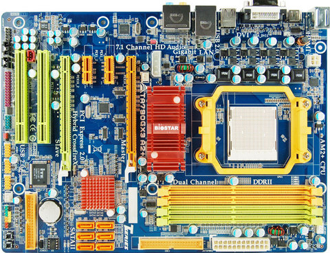 TA790GX3 A2+ AMD Socket AM2+ gaming motherboard