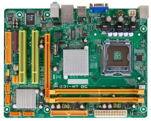 G31-M7 OC INTEL Socket 775 gaming motherboard