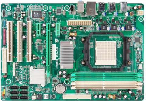 A770 A2G+ AMD Socket AM2+ gaming motherboard