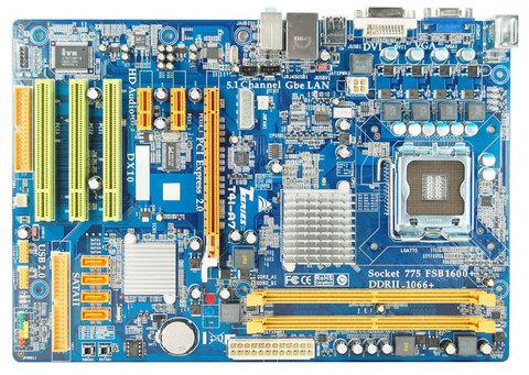T41-A7 INTEL Socket 775 gaming motherboard