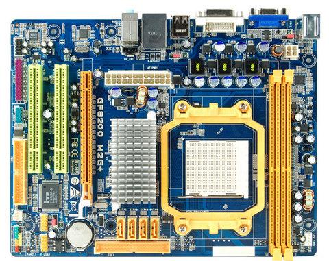 GF8200 M2G+ AMD Socket AM2+ gaming motherboard