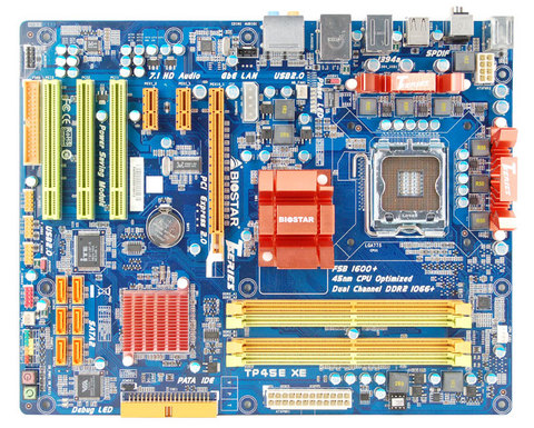 TP45E XE INTEL Socket 775 gaming motherboard