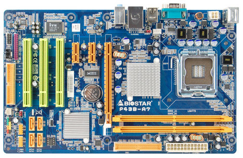 P43B-A7 INTEL Socket 775 gaming motherboard